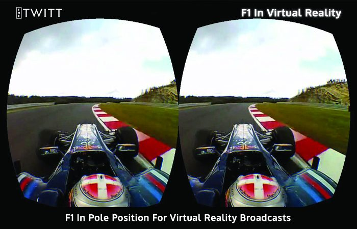 High Octane, Action- View F1 Now In Virtual Reality