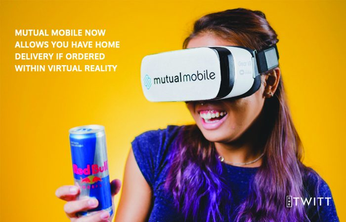 Mutual Mobile Now Allows You Have Home Delivery If Ordered Within Virtual Reality