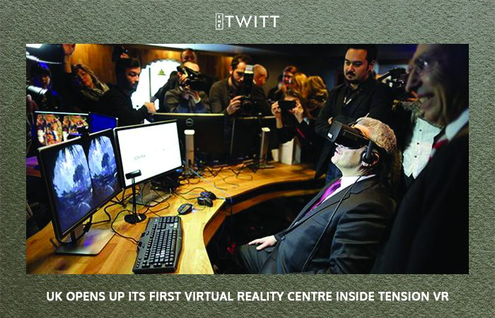 UK opens up its First Virtual Reality Centre inside Tension VR