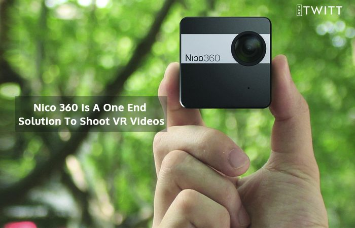 Hands-on Nico360, World's Smallest VR Camera