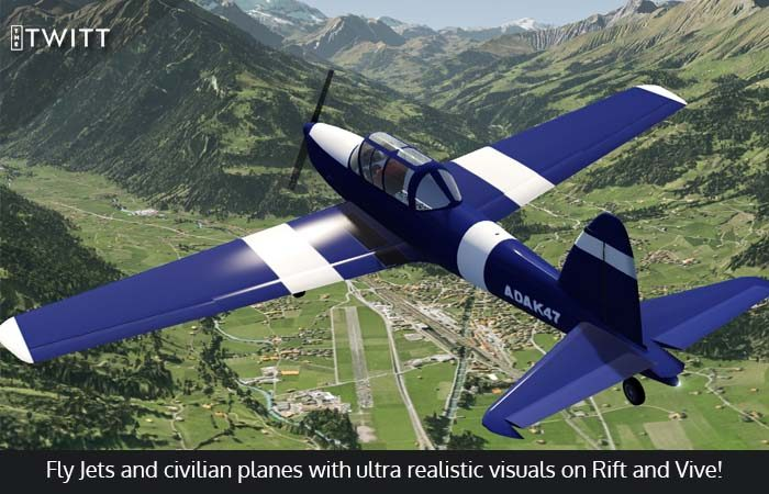 Experience the most Realistic Flight Simulation with Aerofly FS2