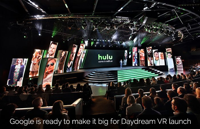 Google Ropes in Hulu, YouTube Stars & Game producers for VR push