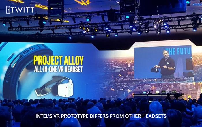 Intel Unveils its Prodigy Virtual Reality Headset Project Alloy