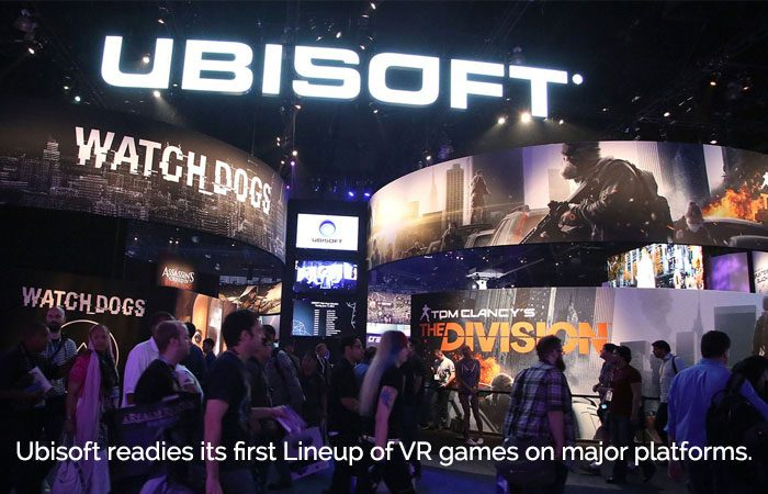 Ubisoft Confirms The Arrival Of Its Three VR Games In Stores