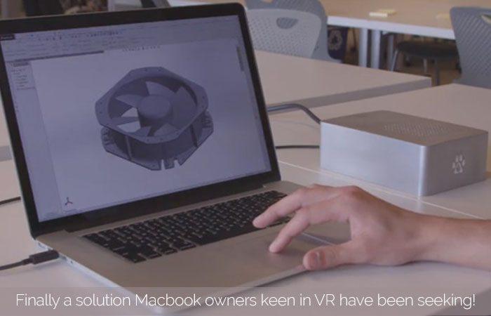 Wolfe-Thunderbolt External GPU Claims To Make Macbooks VR Ready