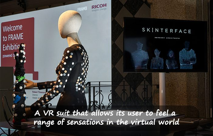 """""""Feel"""" Virtual Reality With The 'Skinterface' Suit"""