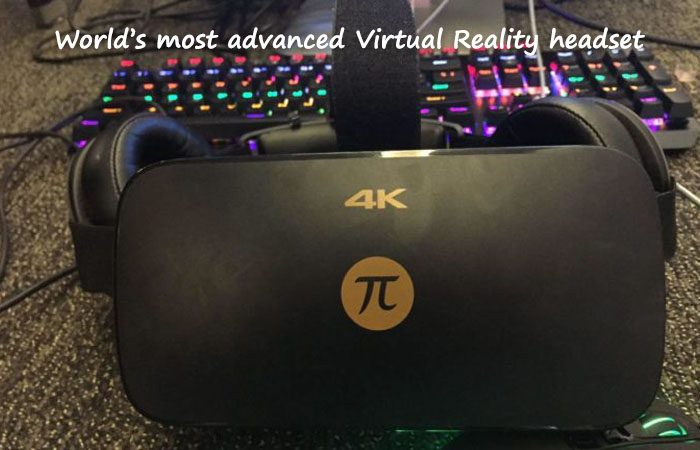 Let's Shake Hands With The First 4K VR Headset