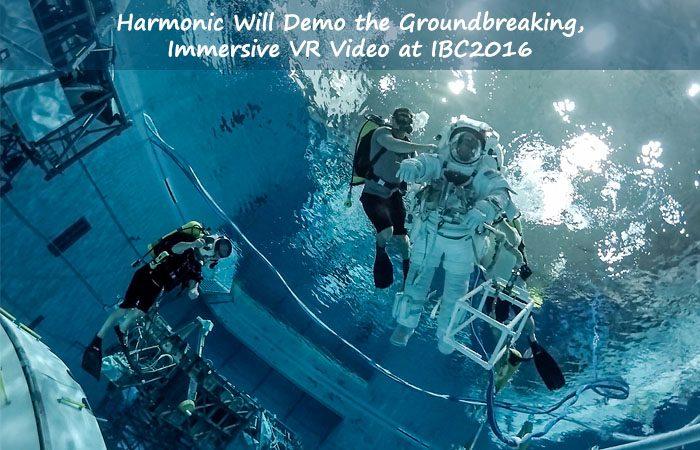 NASA And Harmonic Astronaut Training In 360-Degree Virtual Reality
