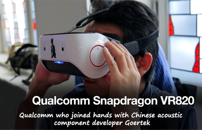 Qualcomm Snapdragon VR 820 Now Being  Unveiled At IFA