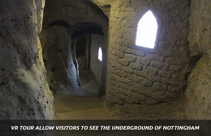 VR's First-Ever Expedition to Nottingham Caves Festival