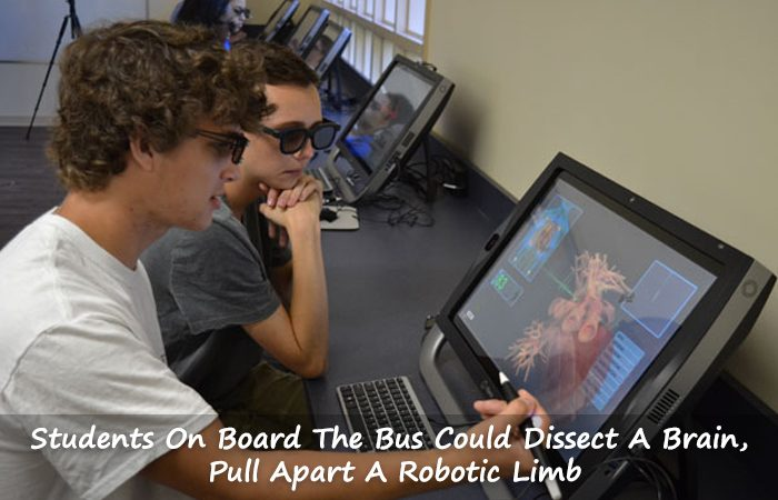 Virtual Reality platform explored by Jackson Students