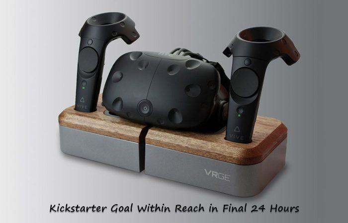 Kickstarter to Reach For The VRGE VR Headset Dock