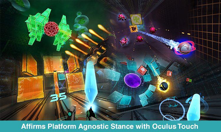 HTC's 'Arcade Saga' With Oculus Touch Improvements