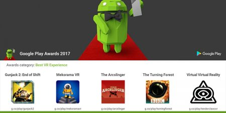 Google Play Awards Includes New Categories For VR/ AR Apps