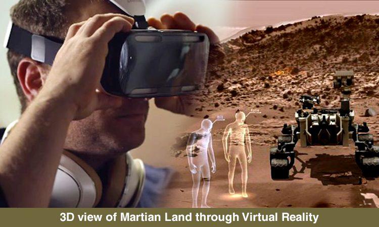 Virtual Reality Tour: A walk on 'Red Planet' (MARS)