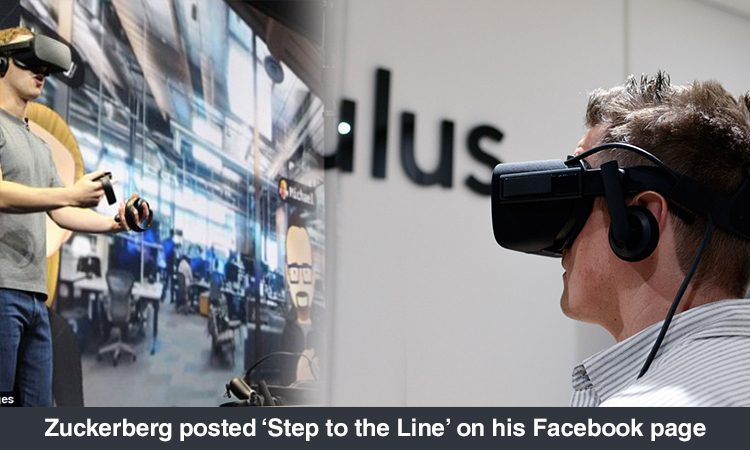 'Step To The Line' Circulated As Part Of Oculus' VR For Good Initiative