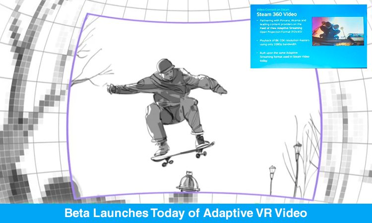 Adaptive VR Video To Steam Brought To You By Pixvana Makers- SPIN