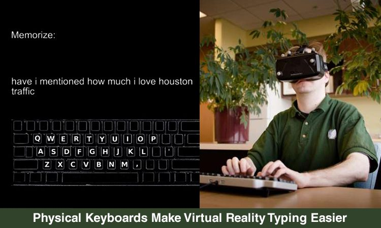 Type Better With VR Technology by Virtual Display, Autocorrect Algorithms